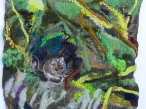 Garden Mouse by Helen  Whittle